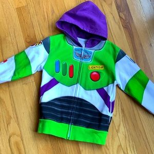 Buzz Lightyear Zip up Hooded Sweatshirt
